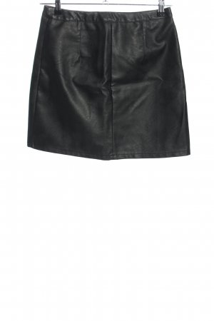 Terranova Kunstlederrock schwarz Casual-Look