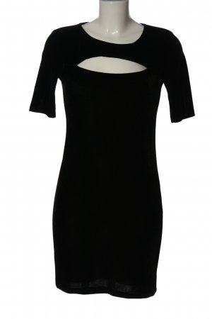 Terranova Minikleid schwarz Elegant