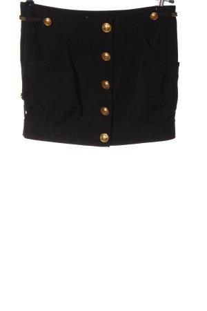 Terranova Mini-jupe noir style décontracté