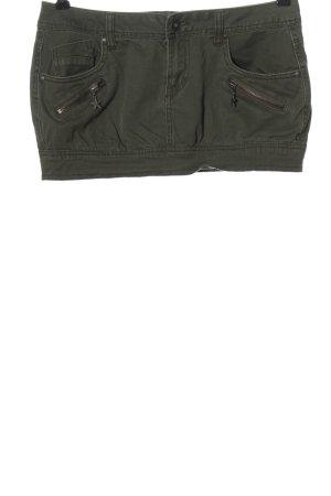 Terranova Mini-jupe kaki style décontracté
