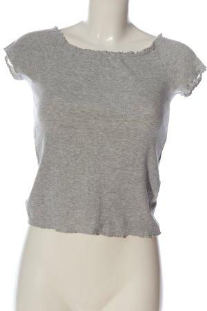 Terranova Muscle Shirt light grey flecked casual look