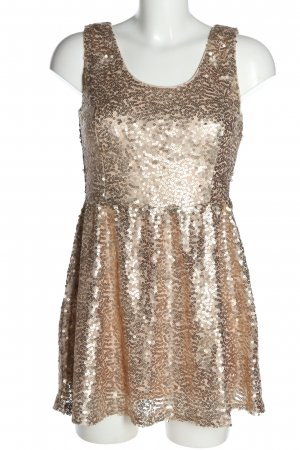 Terranova Sequin Dress nude elegant