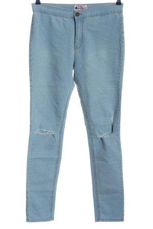 Terranova Röhrenjeans blau Casual-Look