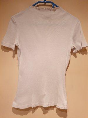 Terranova Shirt mit Kragen | Weiß | Größe L