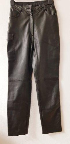 Tesini Linea Pantalone in pelle nero