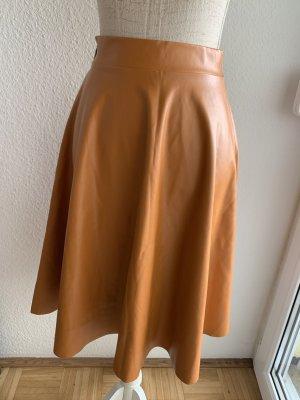 Tessita Falda de cuero de imitación multicolor