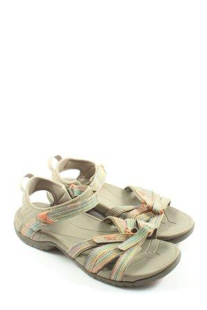 Teva Sandales confort multicolore style décontracté