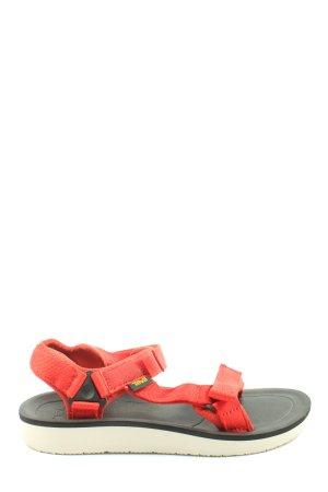 Teva Komfort-Sandalen rot Casual-Look
