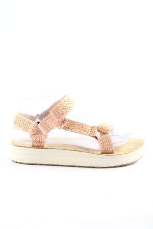 Teva Komfort-Sandalen creme Casual-Look