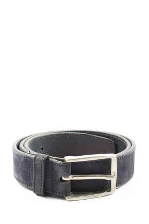 tex Cintura in ecopelle blu stile casual