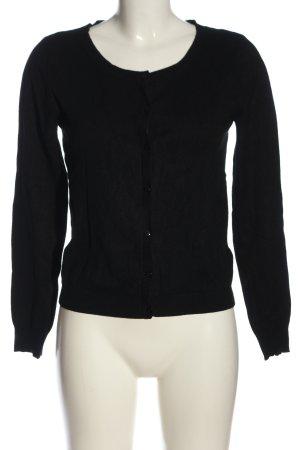 Tezenis Cardigan in maglia nero stile casual