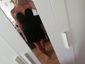 TFNC Vestido corsage negro