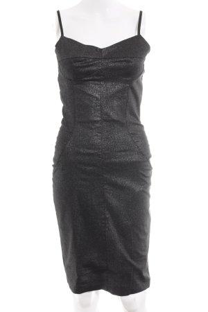 TFNC A-Linien Kleid anthrazit-silberfarben Party-Look