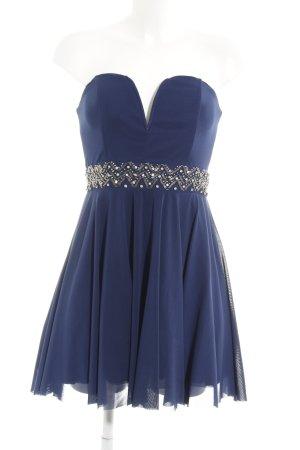TFNC A Line Dress dark blue elegant