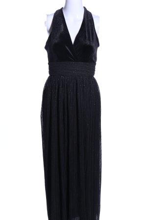 TFNC Abendkleid schwarz meliert Elegant