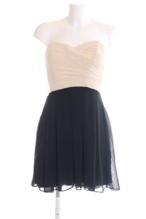 TFNC Abendkleid creme-blau Elegant