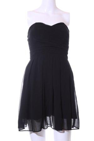 TFNC Bandeaukleid schwarz Elegant