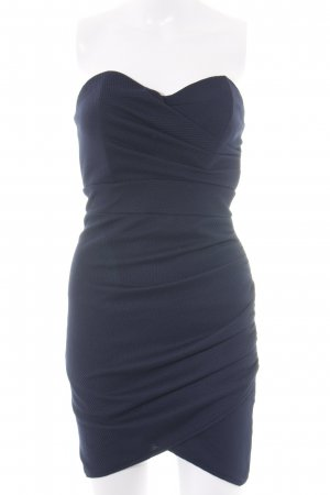 TFNC Bandeau Dress blue elegant