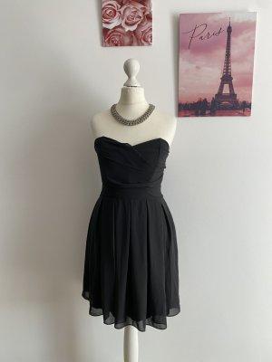 TFNC Kleid Freizeit Skaterkleid schwarz Black A-Linie S 36