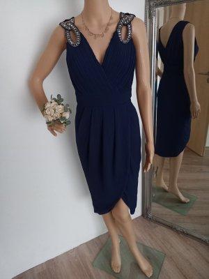 TFNC London Abendkleid dunkelblau 36 neu