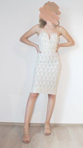 TFNC London dress // white-gold // S