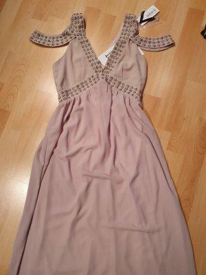 TFNC London Suknia balowa beżowy-stary róż