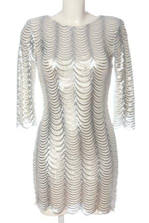 TFNC London Minikleid wollweiß-silberfarben Elegant