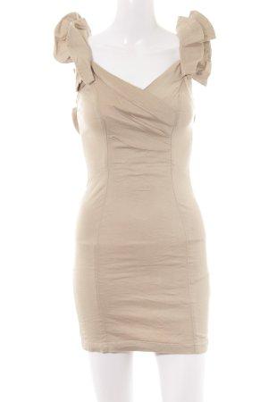 TFNC Mini Dress beige elegant