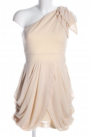 TFNC One-Shoulder-Kleid creme Elegant