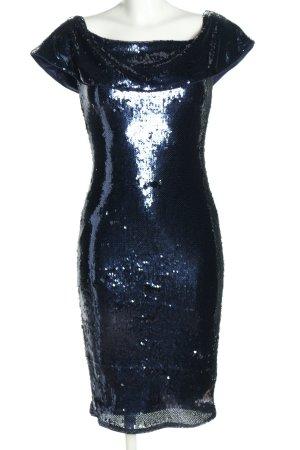 TFNC Pailettenkleid blau Elegant