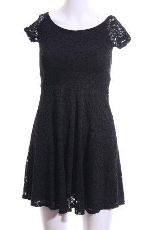 TFNC Spitzenkleid schwarz Elegant