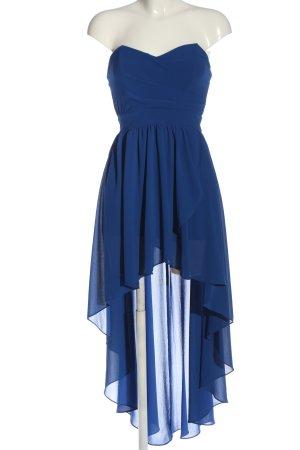 TFNC Jurk met langere achterkant blauw elegant