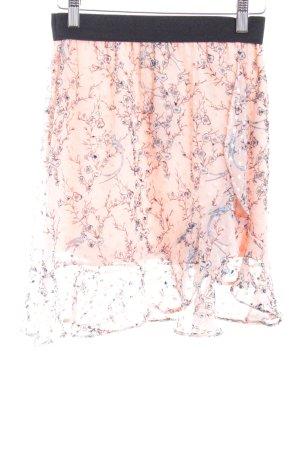 TFNC Volanten rok bloemen patroon romantische stijl