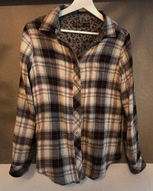 Zara Trafaluc Houthakkershemd veelkleurig Katoen