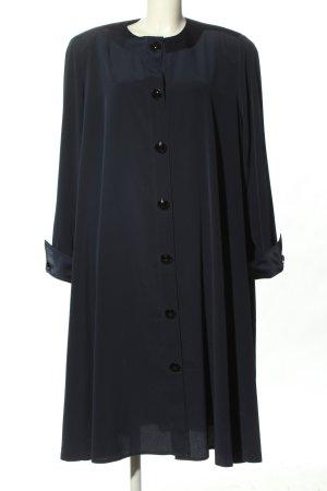 TH. Braun Robe manteau noir élégant