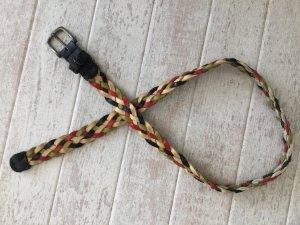 Tommy Hilfiger Cinturón trenzado multicolor Cuero