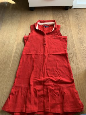 Tommy Hilfiger Polo Dress red
