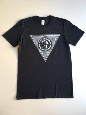 Gildan Camicia fantasia nero-bianco Cotone