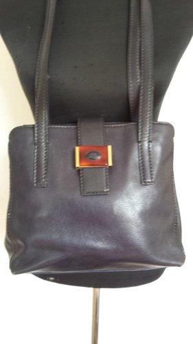 The Bridge Tasche Rarität Vintage Kelly Bag Form Schultertasche Shopper Blau