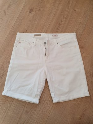 The Brooke - Bermuda Shorts - mid-rise - weiß