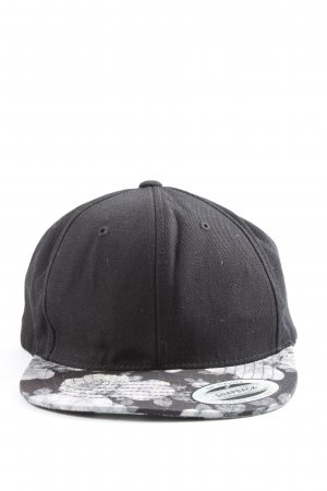The classics Baseball Cap black-white casual look