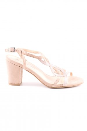 The Divine Factory Riemchenpumps creme Casual-Look