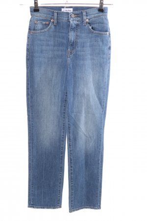 The Drop Hoge taille jeans blauw casual uitstraling