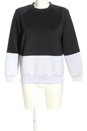 The Fifth Rundhalspullover schwarz-weiß Casual-Look