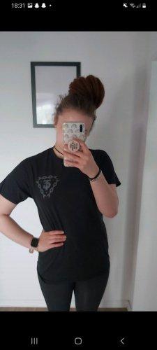 Bandshirt T-shirt nero
