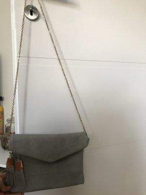 Bolso de mano gris-gris pizarra