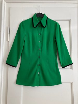The green shirt with black Piping - Vintage - Dolce & Gabbana