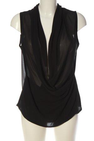 The Hackbarth's Sleeveless Blouse black elegant