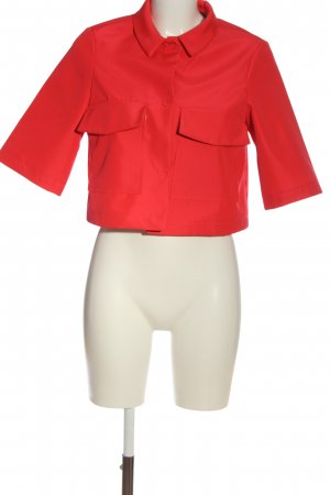 The Hackbarth's Short Sleeved Blouse red casual look
