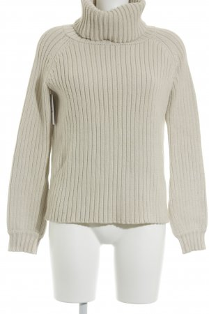 The Jetset diaries Rollkragenpullover wollweiß Casual-Look